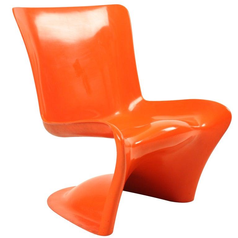 Hans christiansen polyester chair denmark rare furniture for Sixties furniture design