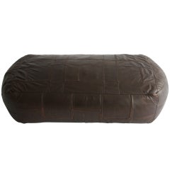Pouffe Leather 1970