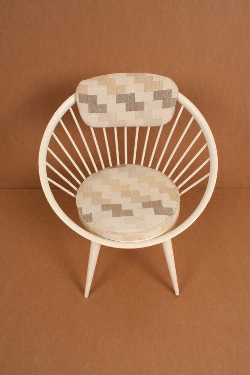 Yngve Exstr 246 M Sweden Circle Chair At 1stdibs