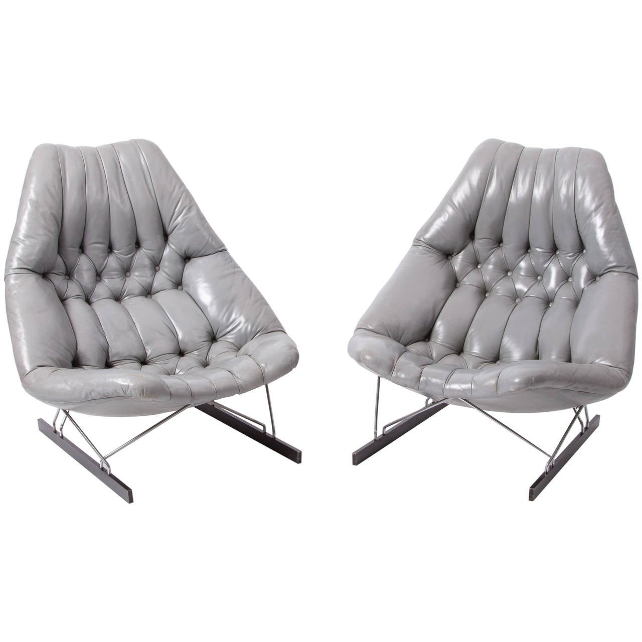 Set Of Artifort Chairs Designed By Geoffrey Harcourt In