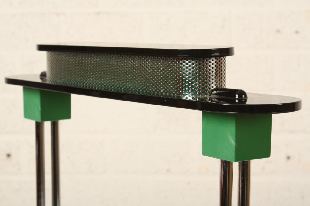 Ettore Sottsass Pausania Lamp Memphis Period 4