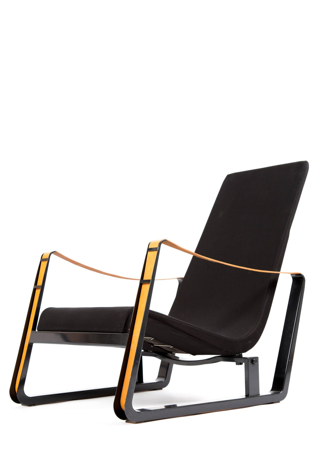 set of two cite lounge chairs of prouve for vitra at 1stdibs. Black Bedroom Furniture Sets. Home Design Ideas