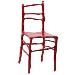 Maarten Baas Clay Chair for Art Basel