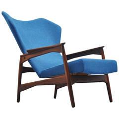 Ib Kofod-Larsen Carlo Reclining Chair for Carlo Gahrn, Denmark, 1954