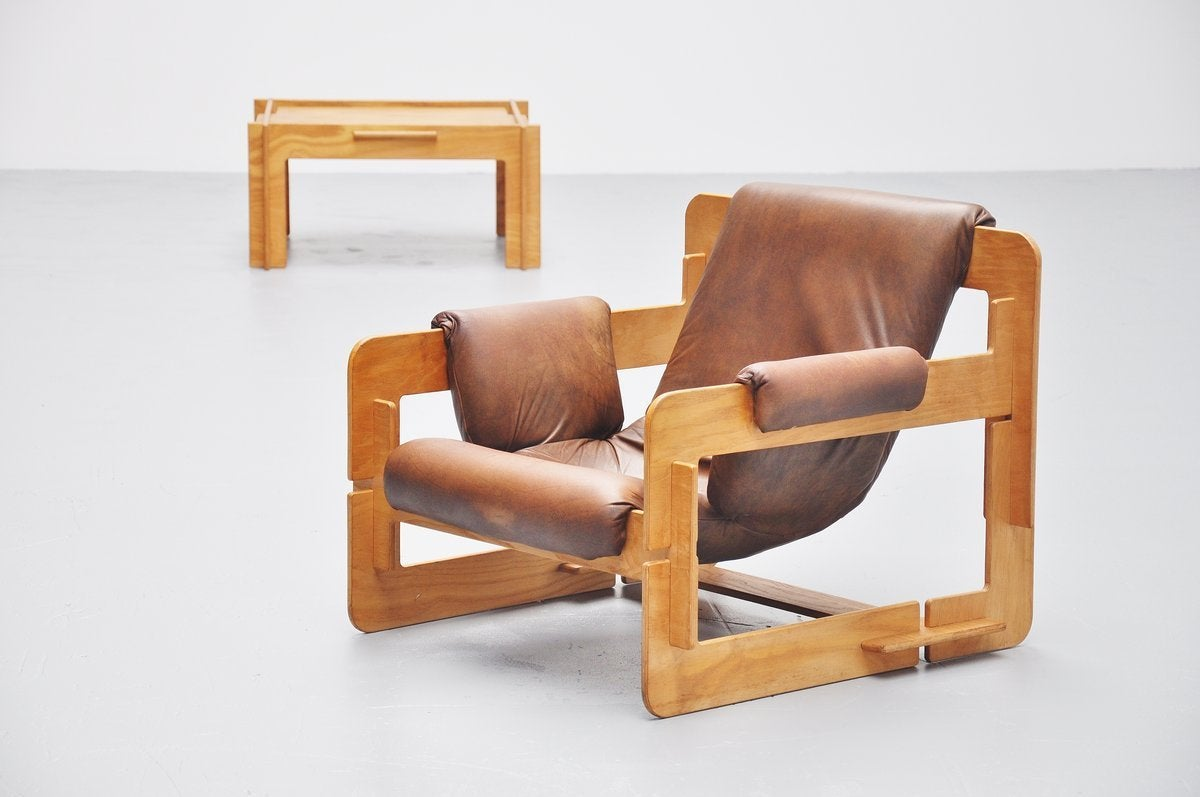Mid-20th Century Arne Jacobsen Plywood Lounge Chair for Fritz Hansen, 1960 For Sale