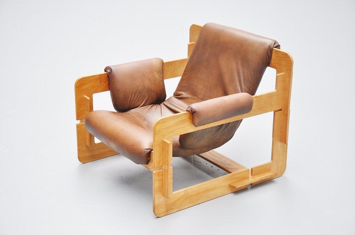 Arne Jacobsen Plywood Lounge Chair for Fritz Hansen, 1960 For Sale 2