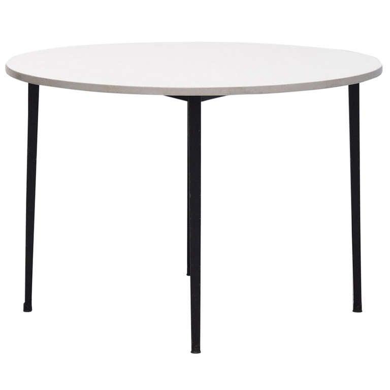 1964 Rare Friso Kramer Coffee Table For Ahrend De Cirkel: Friso Kramer Round Reform Table Ahrend 1955 At 1stdibs