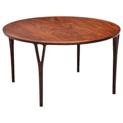 Helge Vestergaard Jensen Coffee Table in Rosewood, 1955