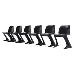 Ernst Moeckl Kangaroo Chairs for Horn, Germany 1968