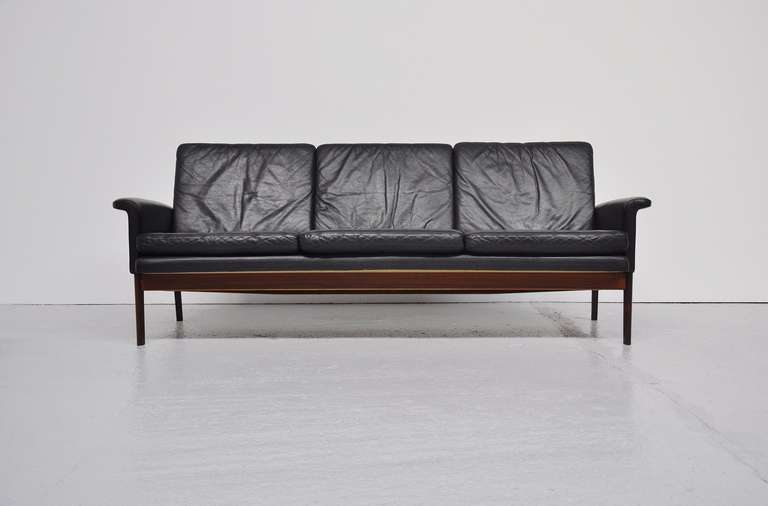 finn juhl jupiter sofa set in rosewood france and son 1965 at 1stdibs. Black Bedroom Furniture Sets. Home Design Ideas