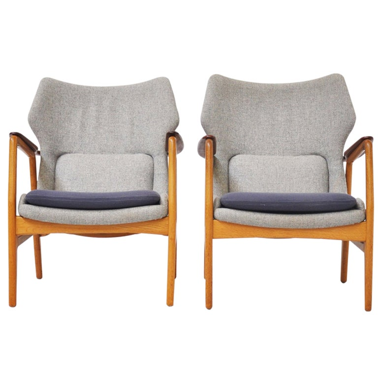 1960s Missoni Wingback Chair At 1stdibs: Bovenkamp Wingback Easy Chairs With Original Fabric 1960
