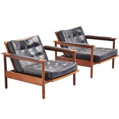 Pair of Stildomus Lounge Chairs, Italy, 1960