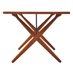 Hans Wegner cross legg table  AT303 Andreas Tuck Denmark 1955