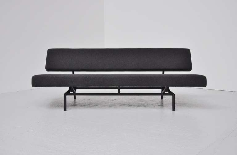 Fantastic First Production Sleeping Sofa / Daybed By Martin Visser For U0027t  Spectrum, Bergeijk