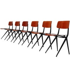 Marko industrial chairs Prouve style