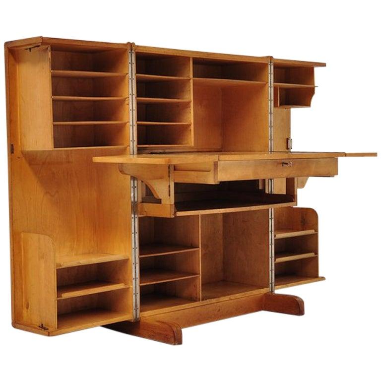 Mummenthaler And Meier Desk In A Box Folding Desk At 1stdibs