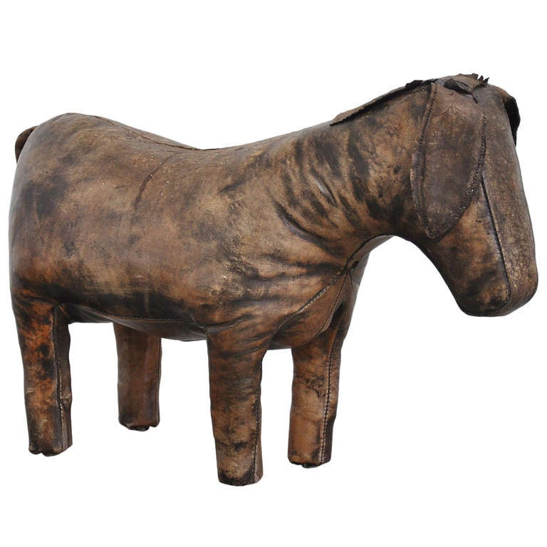 Dimitri Omersa Donkey Foot Stool, England, 1960, Abercrombie & Fitch