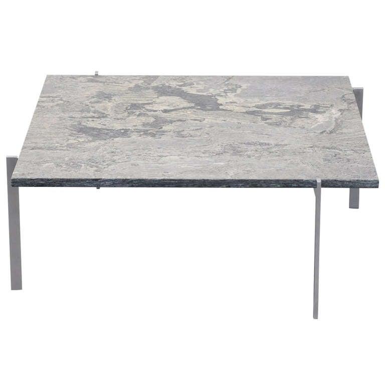 Poul Kjaerholm Pk61 Marble Top Table For E Kold Christensen 1956 At 1stdibs