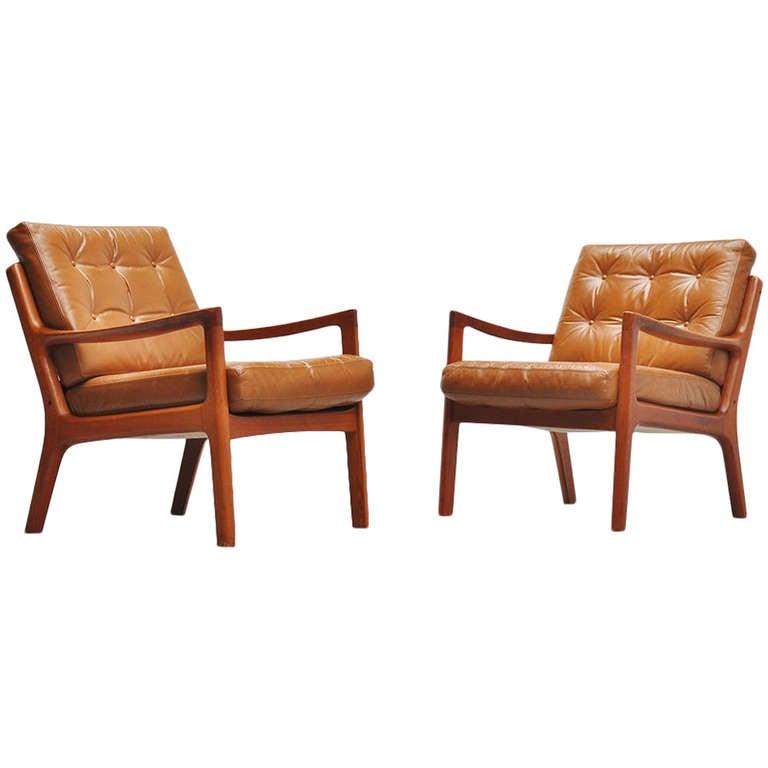 Ole Wanscher Senator Chairs #166, France & Son, 1951