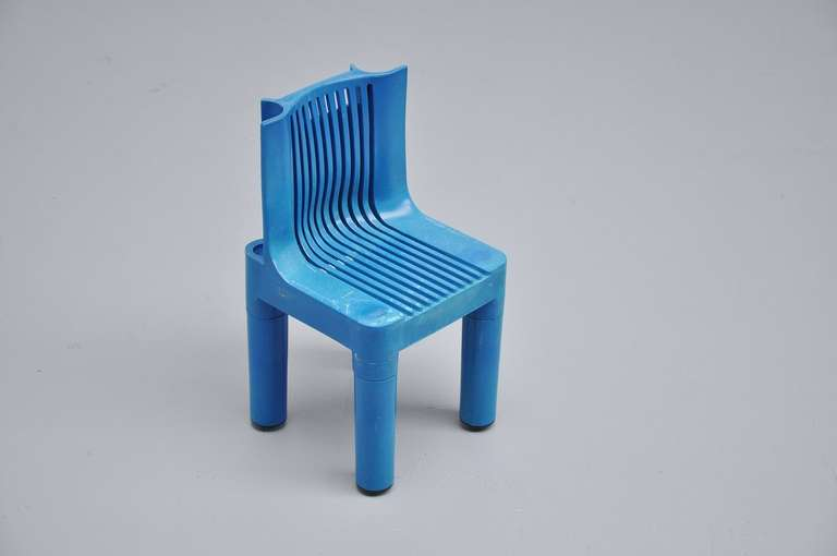 Marco zanuso plastic kids chair for kartell 1964 at 1stdibs for Kartell plastic chair