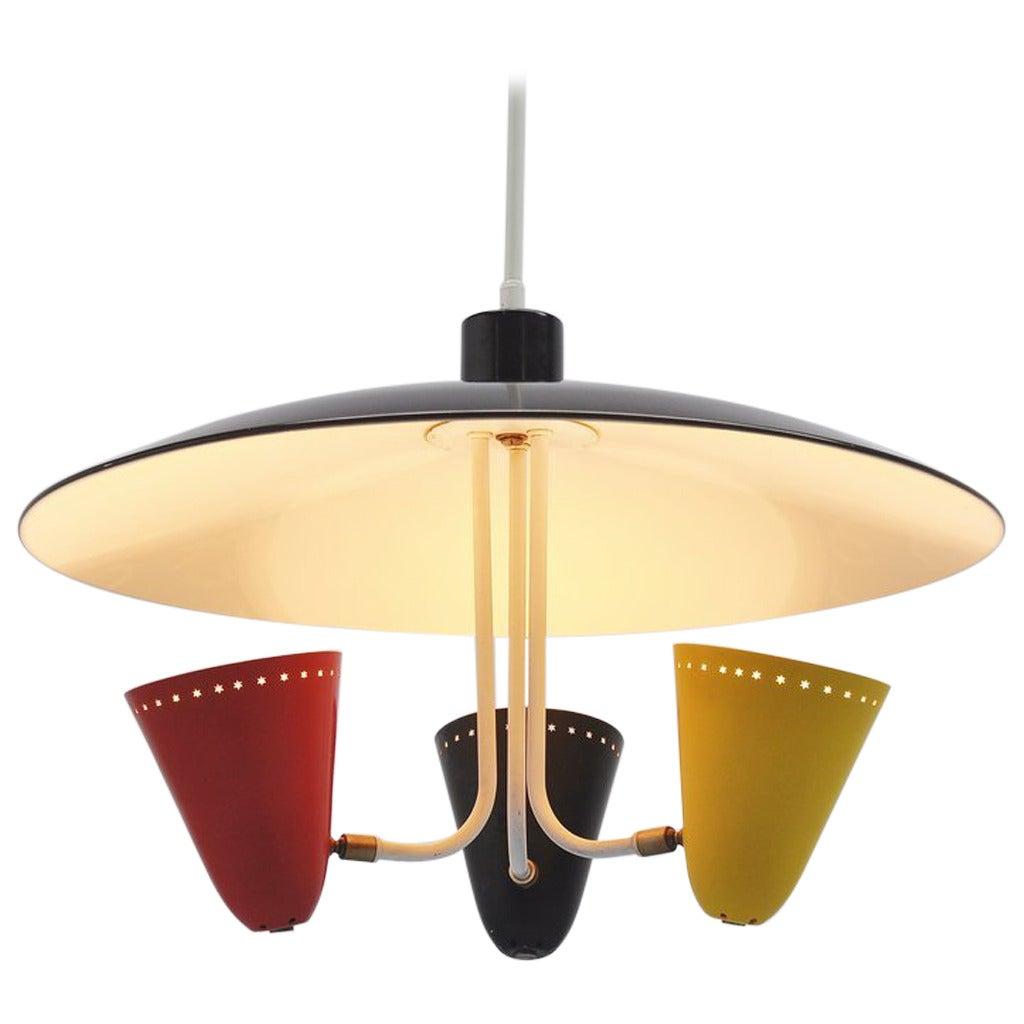 Hala Uplighter Designed by H. Busquet, 1955