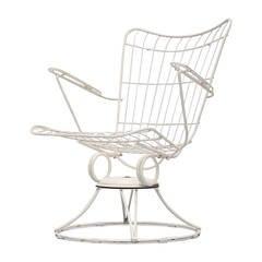 American Garden Swivel Lounge Chair, 1950