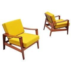 Arne Wahl Iversen Easy Chairs Komfort, 1960