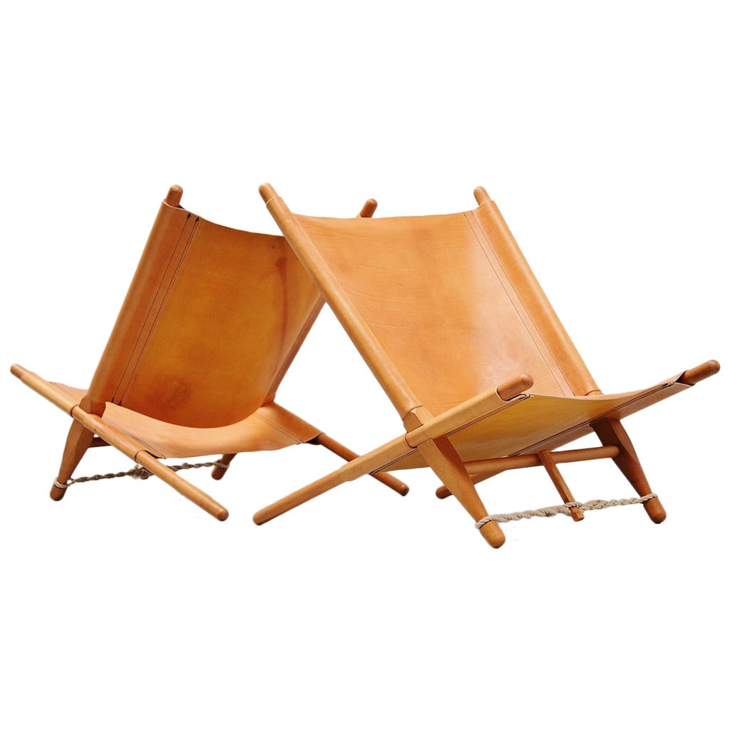 Ole Gjerl 248 V Knudsen Saw Lounge Chairs Cado 1958 At 1stdibs
