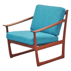 Peter Hvidt and Orla Molgaard Lounge Chair, 1961