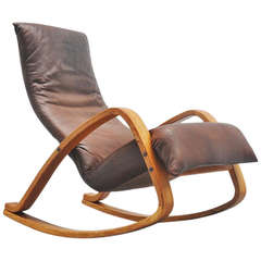 Gerard van den Berg Montis Onrad Rocking Chair, 1970