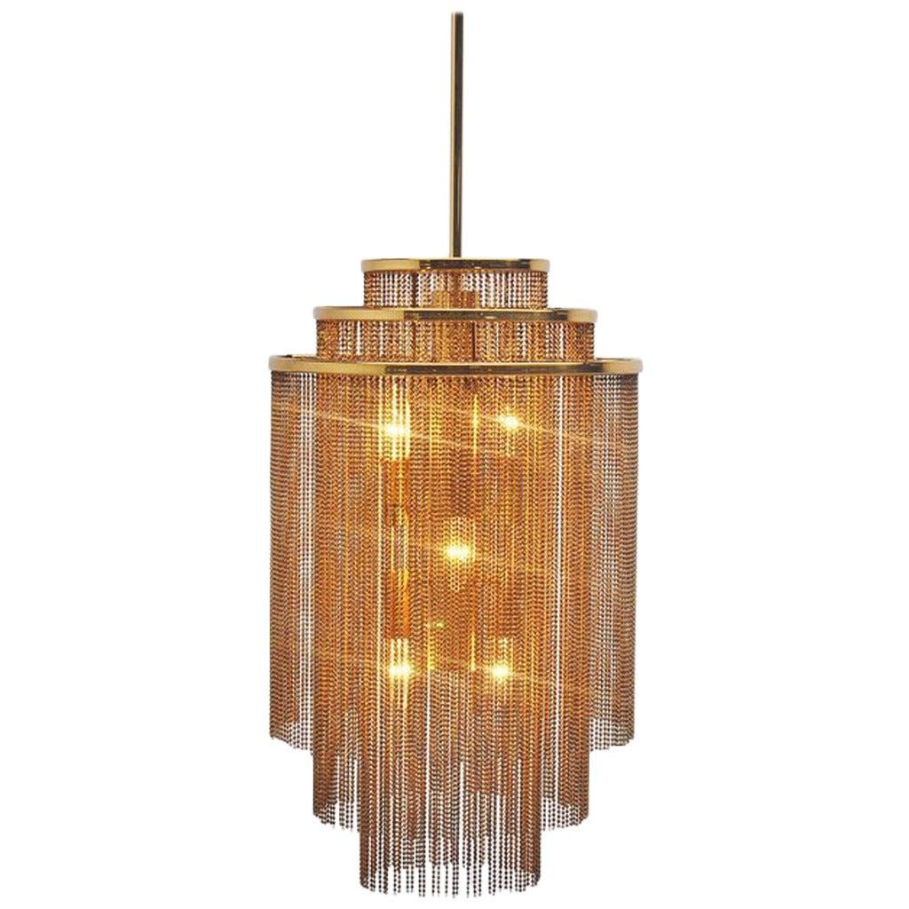 Kinkeldey Pendant Lamp Made in Germany, 1970