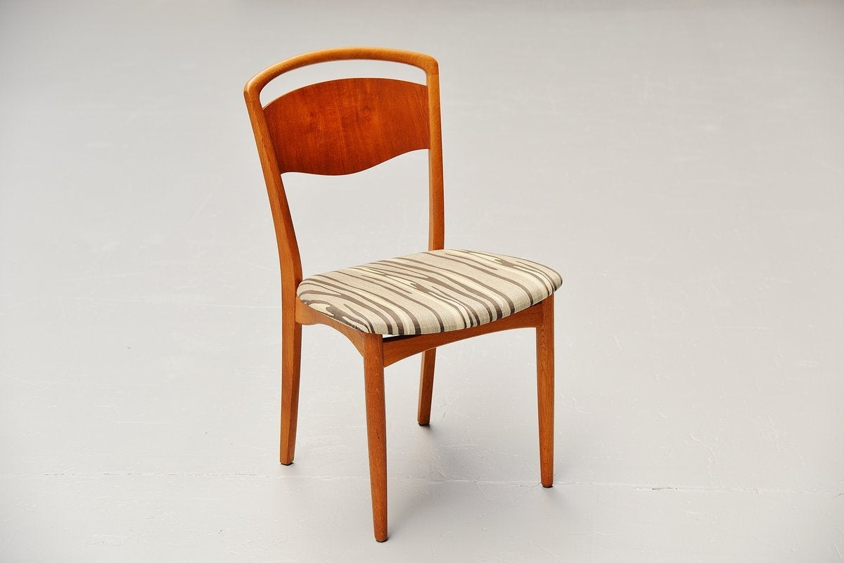 Swedish Dining Chairs With Original Upholstery 1960 At 1stdibs