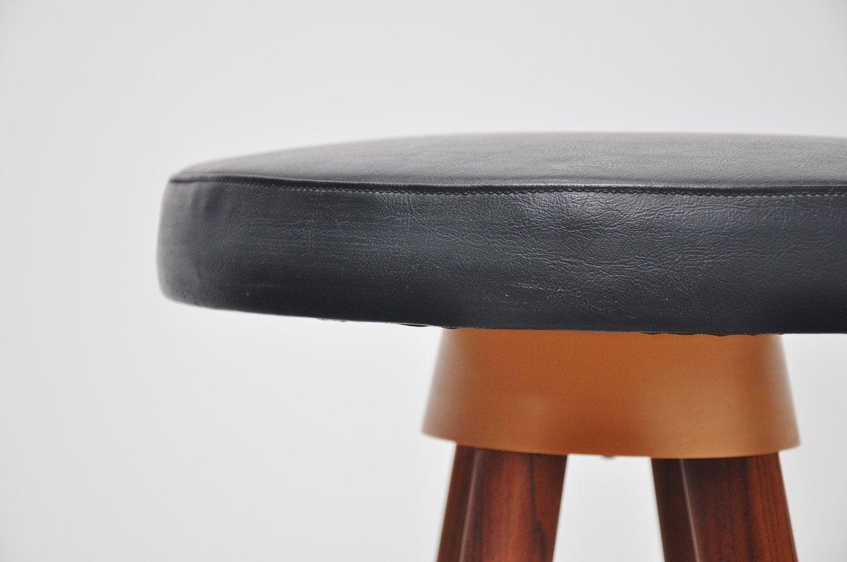 Hans Olsen bar stools for Frem Rojle Denmark 1960 5
