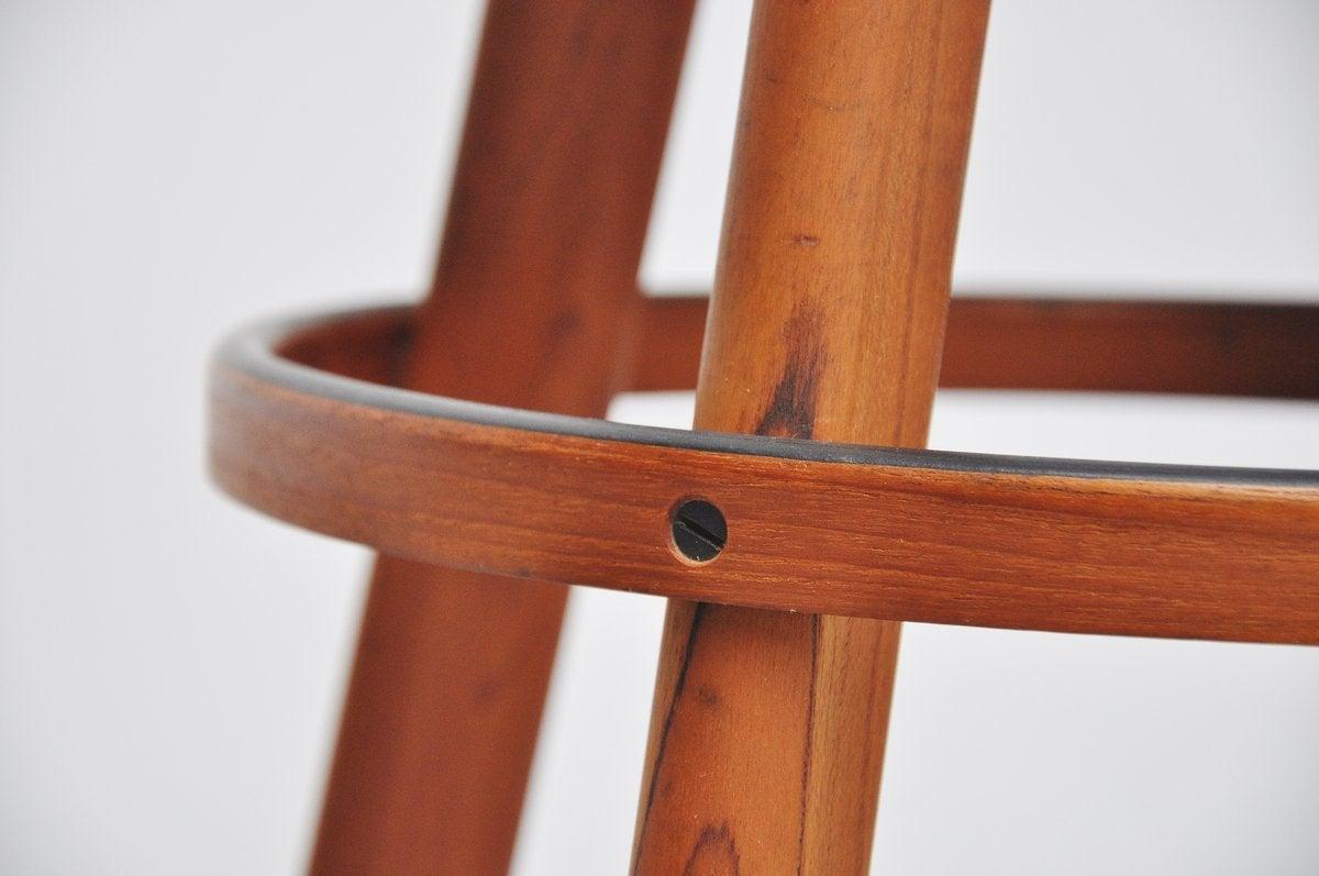 Hans Olsen bar stools for Frem Rojle Denmark 1960 8