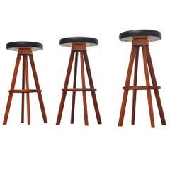 Hans Olsen bar stools for Frem Rojle Denmark 1960