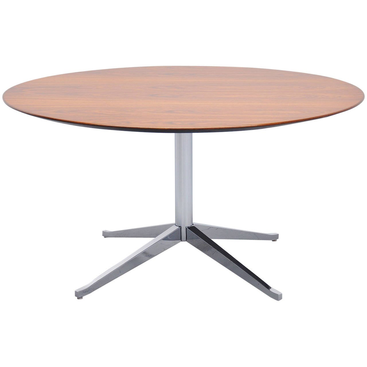 Knoll Round Dining Table By Florence Knoll 1960 At 1stdibs