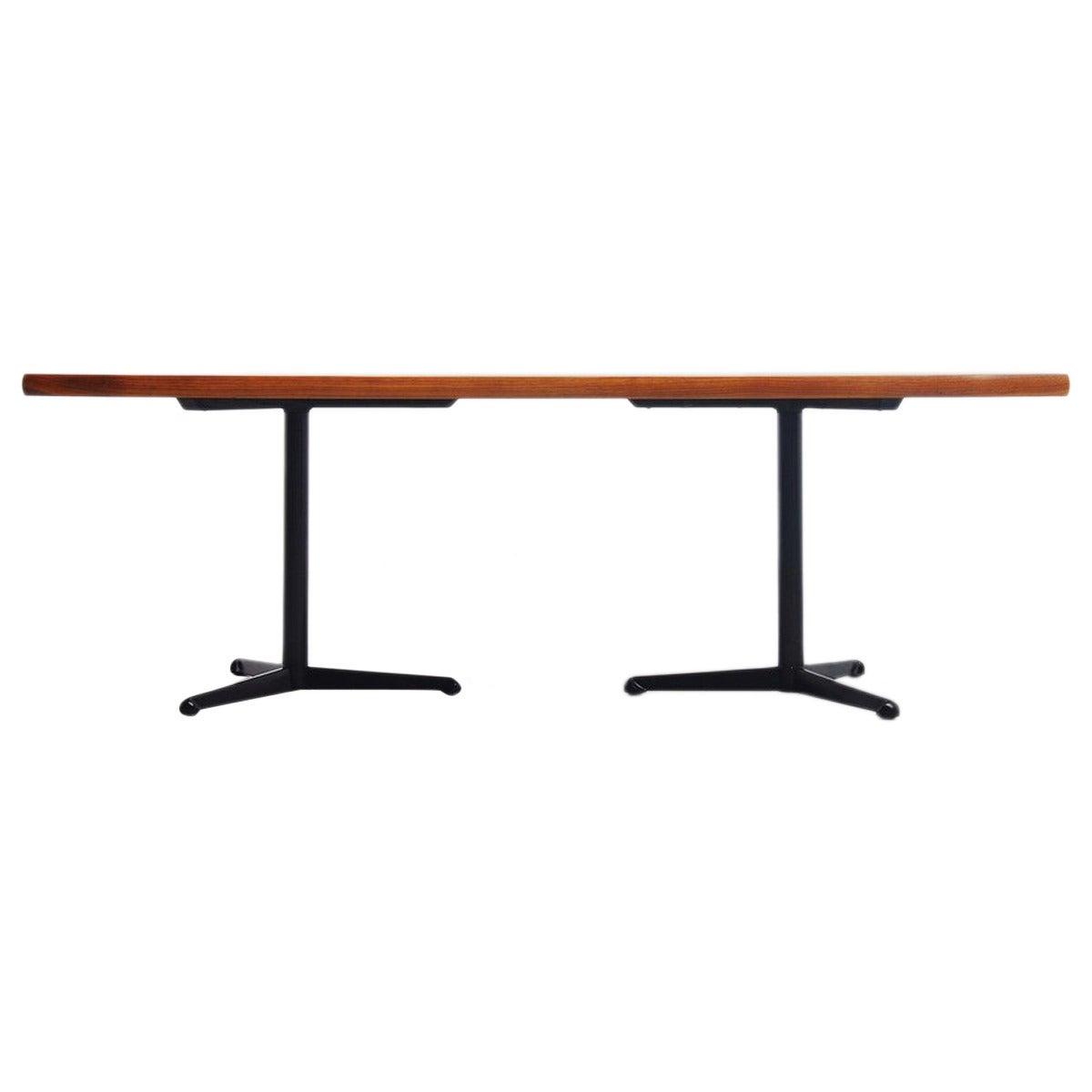 Osvaldo Borsani conference table / desk Tecno Italy 1954