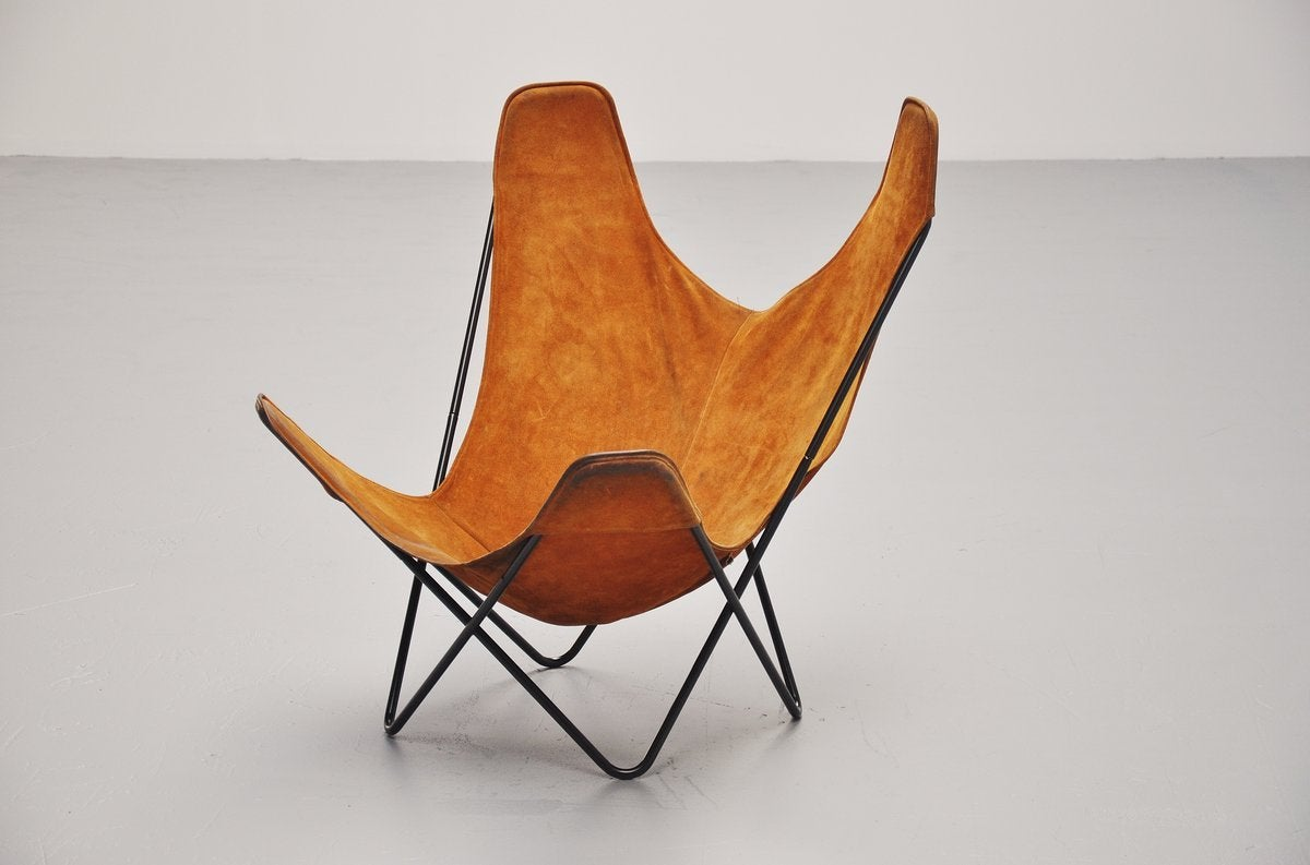 Butterfly Chair By Jorge Hardoy Ferrari For Knoll 1970 At