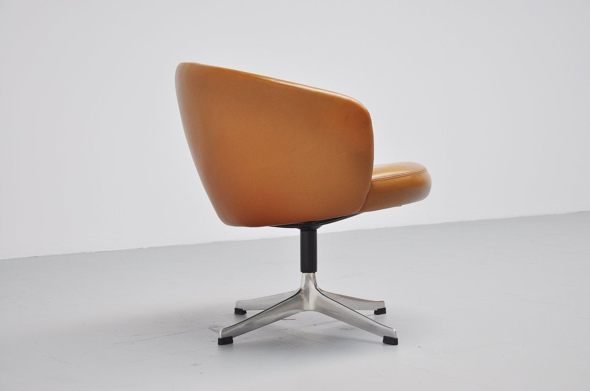 Yngve Ekstrom Rondino swivel chair Swedese 1950 at 1stdibs