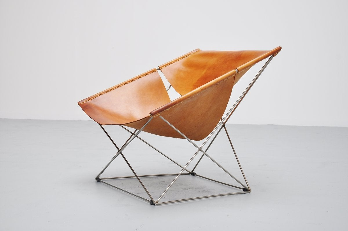 pierre paulin f675 butterfly chair for artifort 1963 at 1stdibs