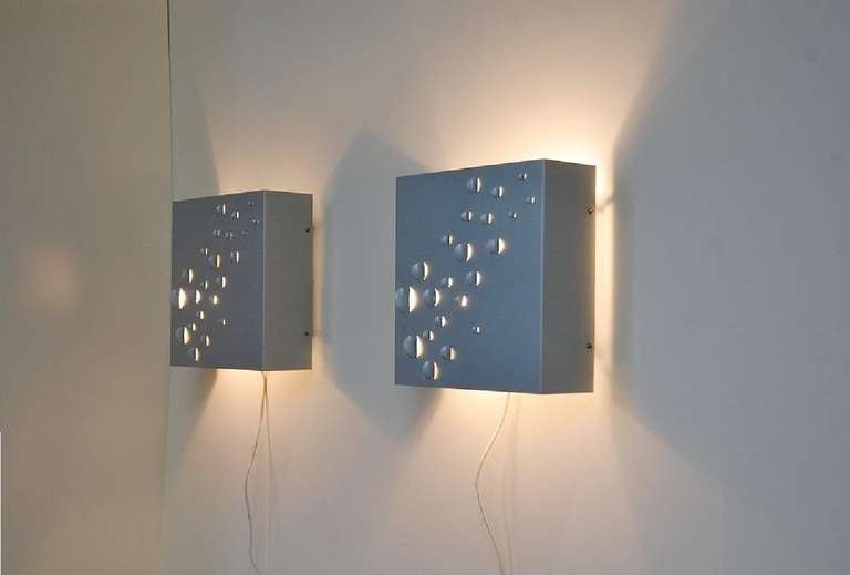 RAAK Raindrops Wall Lamps by Jelle Jelles, 1965 In Good Condition In Roosendaal, Noord Brabant