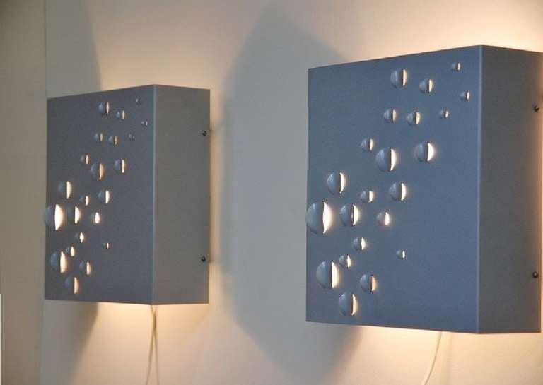 Mid-20th Century RAAK Raindrops Wall Lamps by Jelle Jelles, 1965