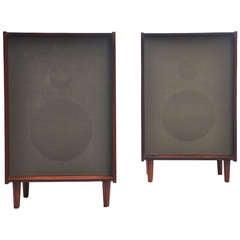 """Bang & Olufsen Type """"K"""" Speakers in Rosewood"""