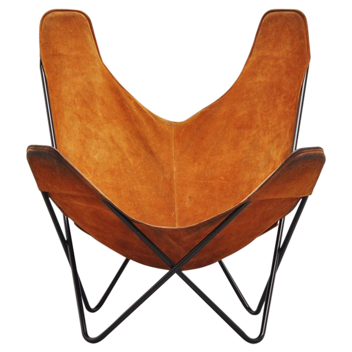 butterfly chair by jorge hardoy ferrari for knoll 1970 for. Black Bedroom Furniture Sets. Home Design Ideas