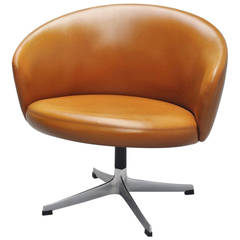 Yngve Ekstrom Rondino swivel chair Swedese 1950