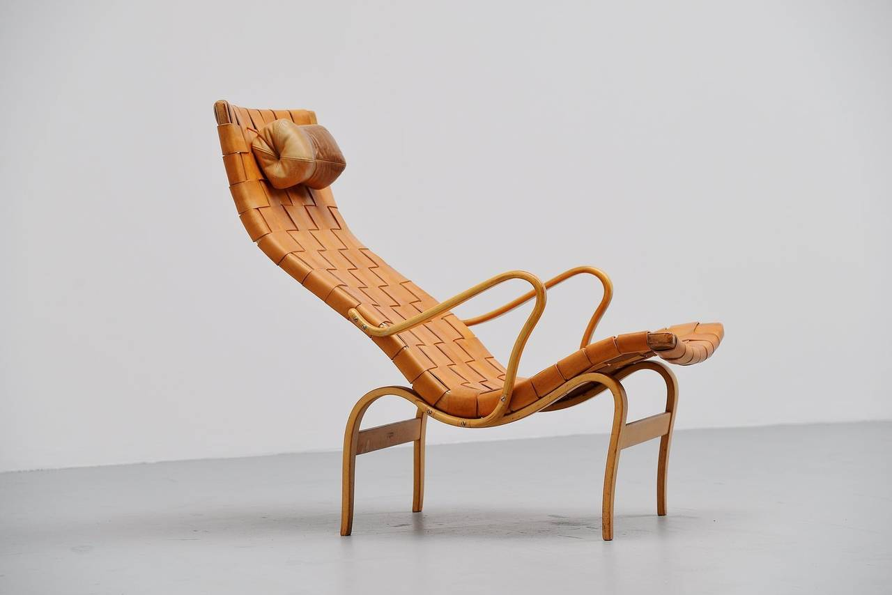 Attirant Sculptural Lounge Chair Designed By Bruno Mathsson Manufactured By Karl  Mathsson, Sweden 1960. The