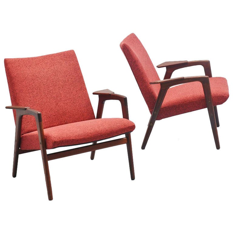 Yngve Ekstrom Ruster Chairs For Pastoe 1960 For Sale At