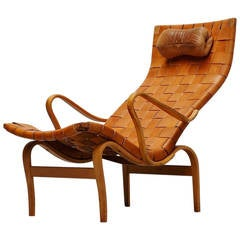 Bruno Mathsson Pernilla Lounge Chair, Sweden, 1960