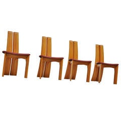 Bob van den Berghe dining chairs Pauvers 1970