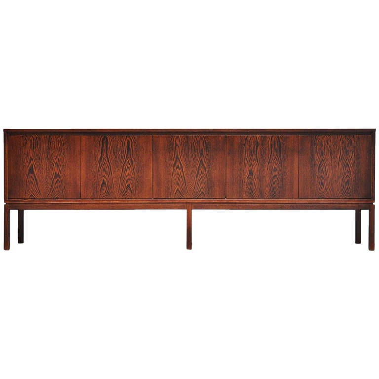 Wenge xxl sideboard made in belgium 1970 at 1stdibs - Sideboard wenge ...